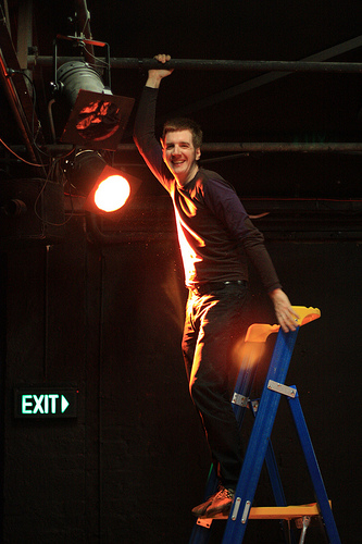 Miles Thomas- The Lighting Designer with a Heart of Gold and patience of a monk!