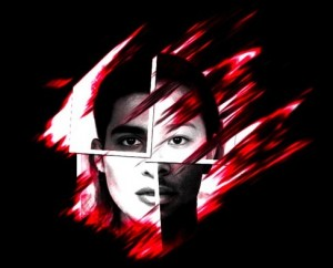 Colour Bind Faces Red HI home page face logo3